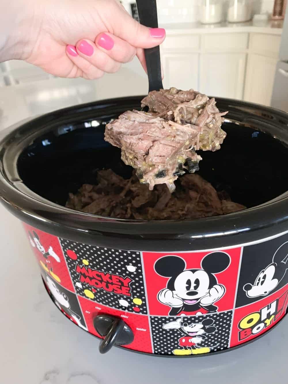 shredded beef recipe in crockpot