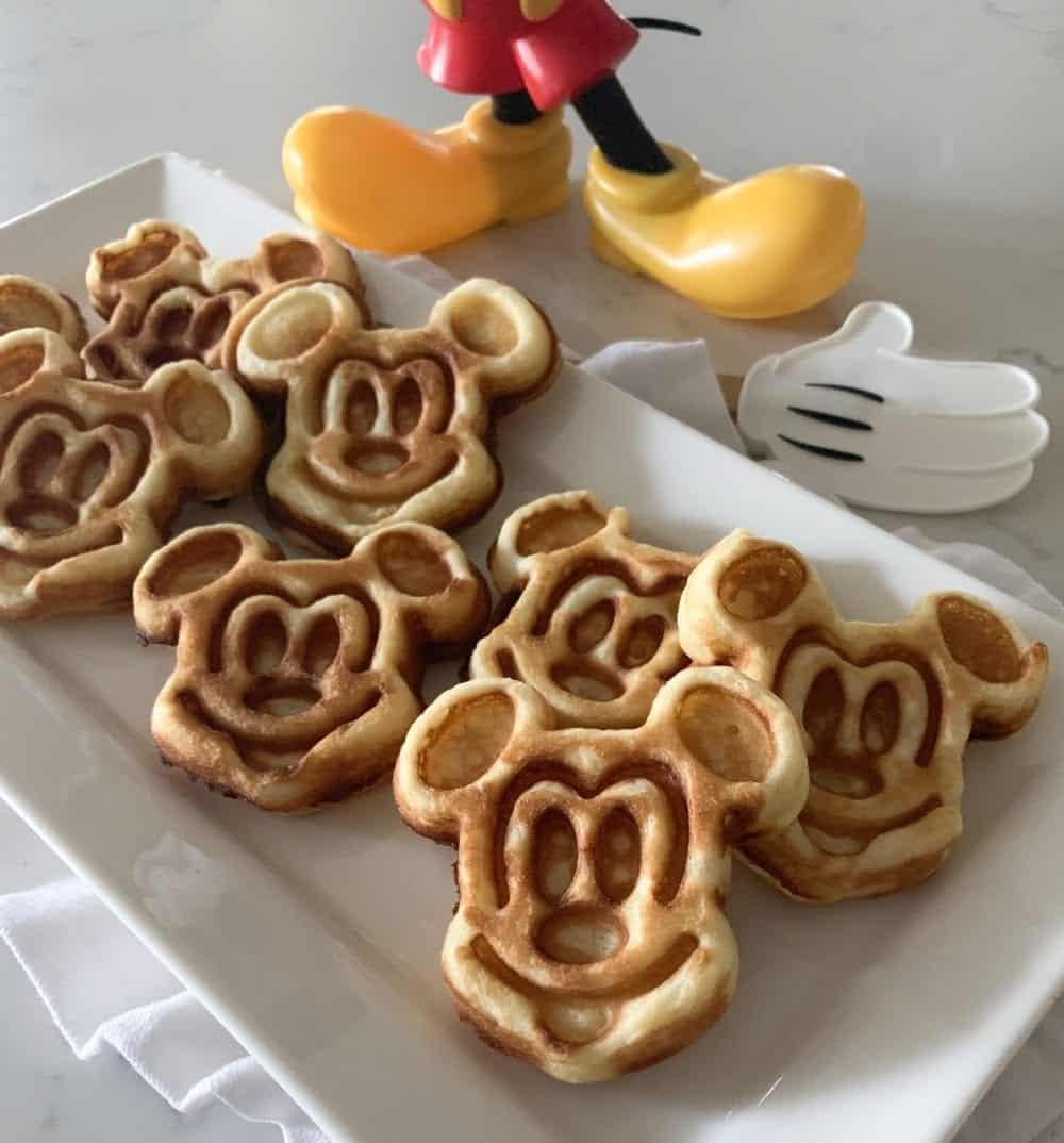 418442eae How To Make Mickey Waffles. Tags: disneyland copycat recipe, mickey mouse  waffle iron ...