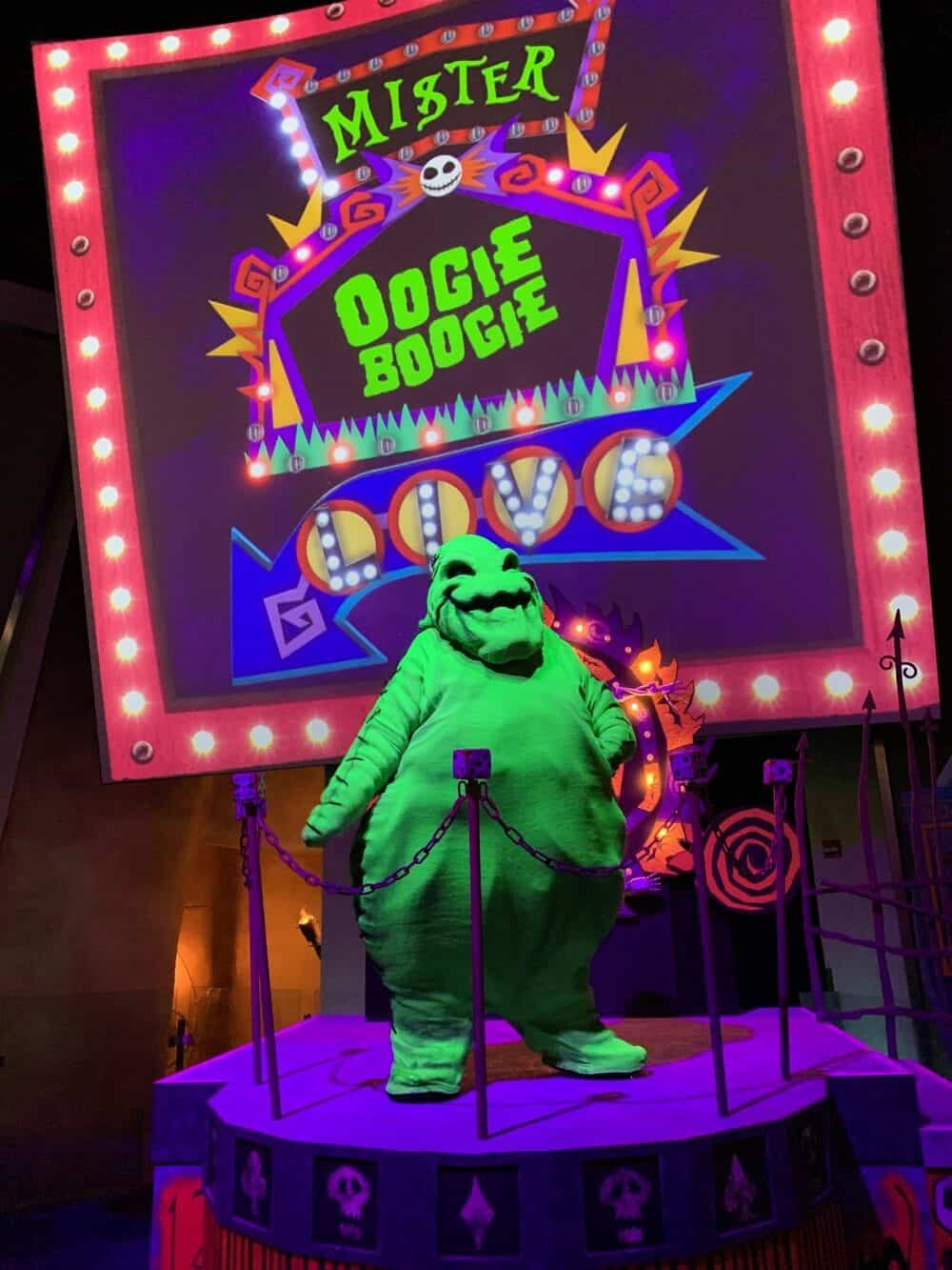 oogie boogie bash costume rules