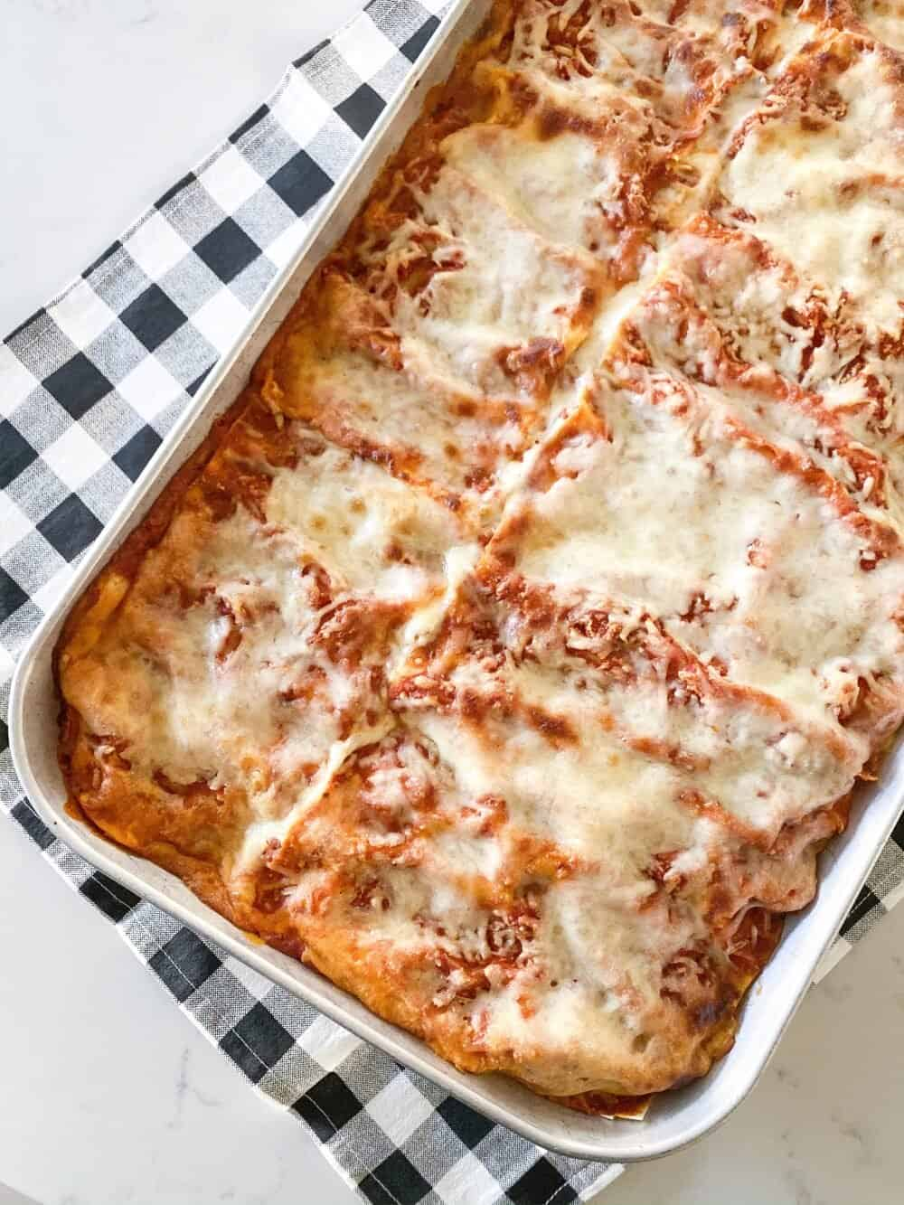 Homemade Easy Lasagna