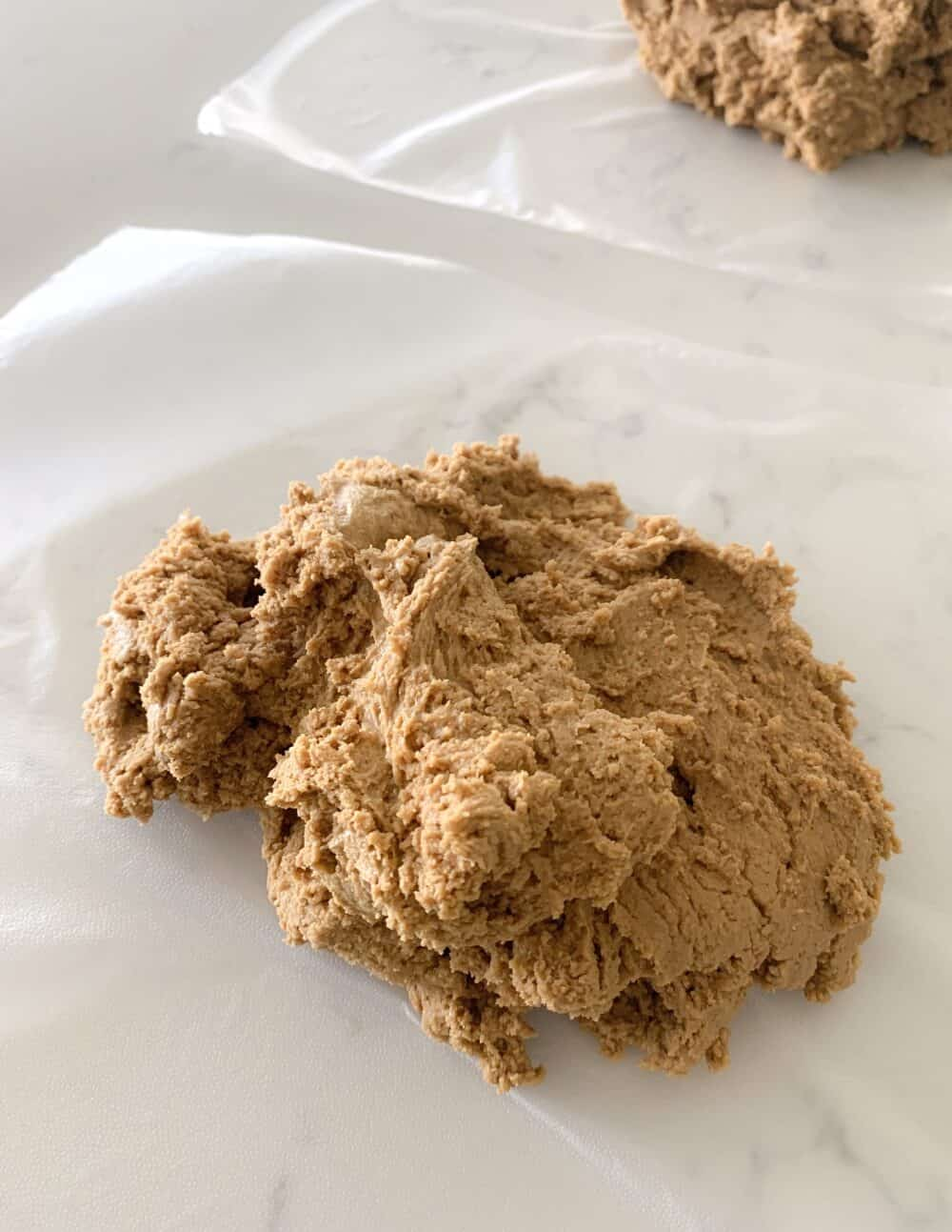 gingerbread man cookie dough