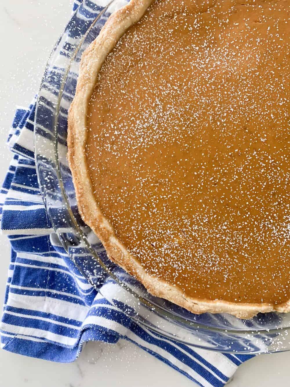 baked pumpkin pie recipe
