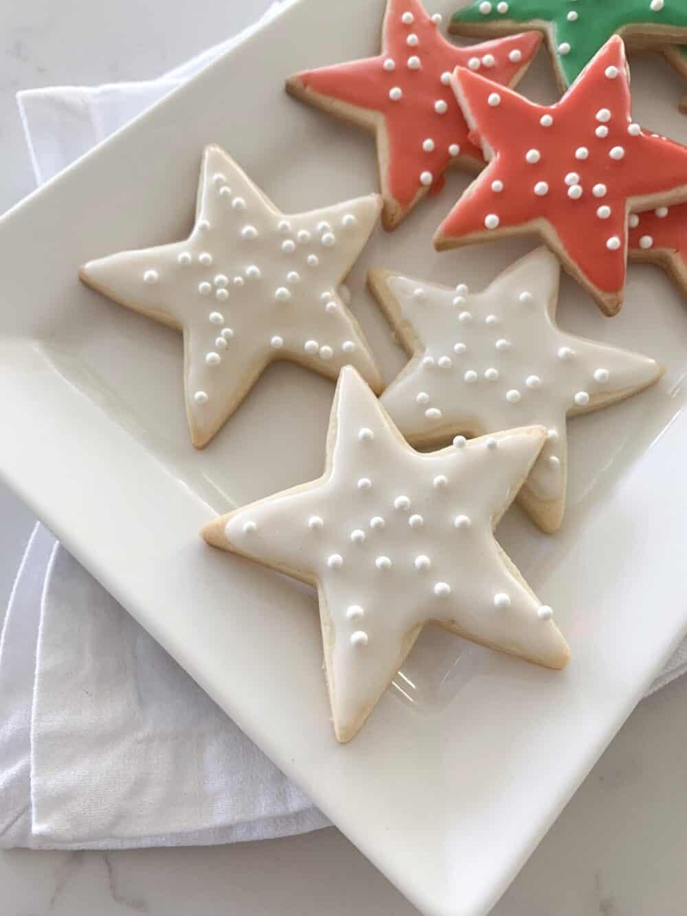 iced sugar cookies