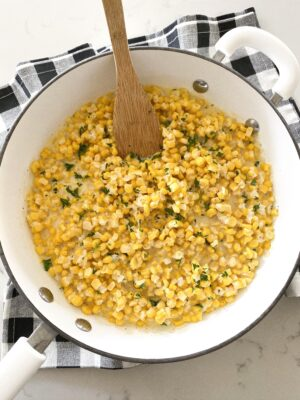 Easy Homemade Creamed Corn Recipe