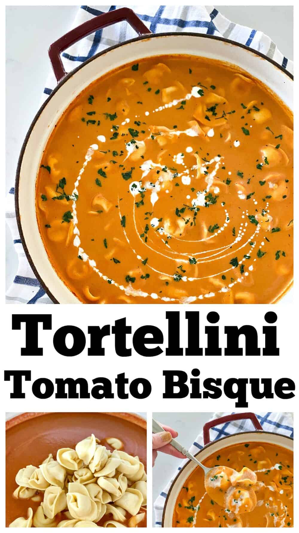 photo collage tomato bisque