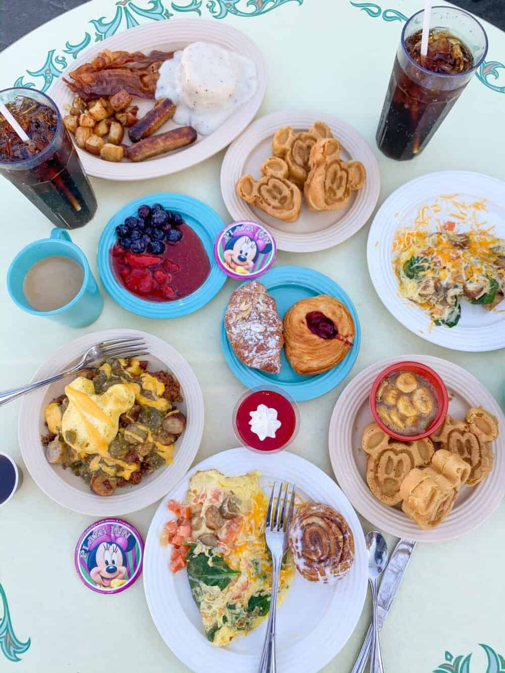 disneyland breakfast