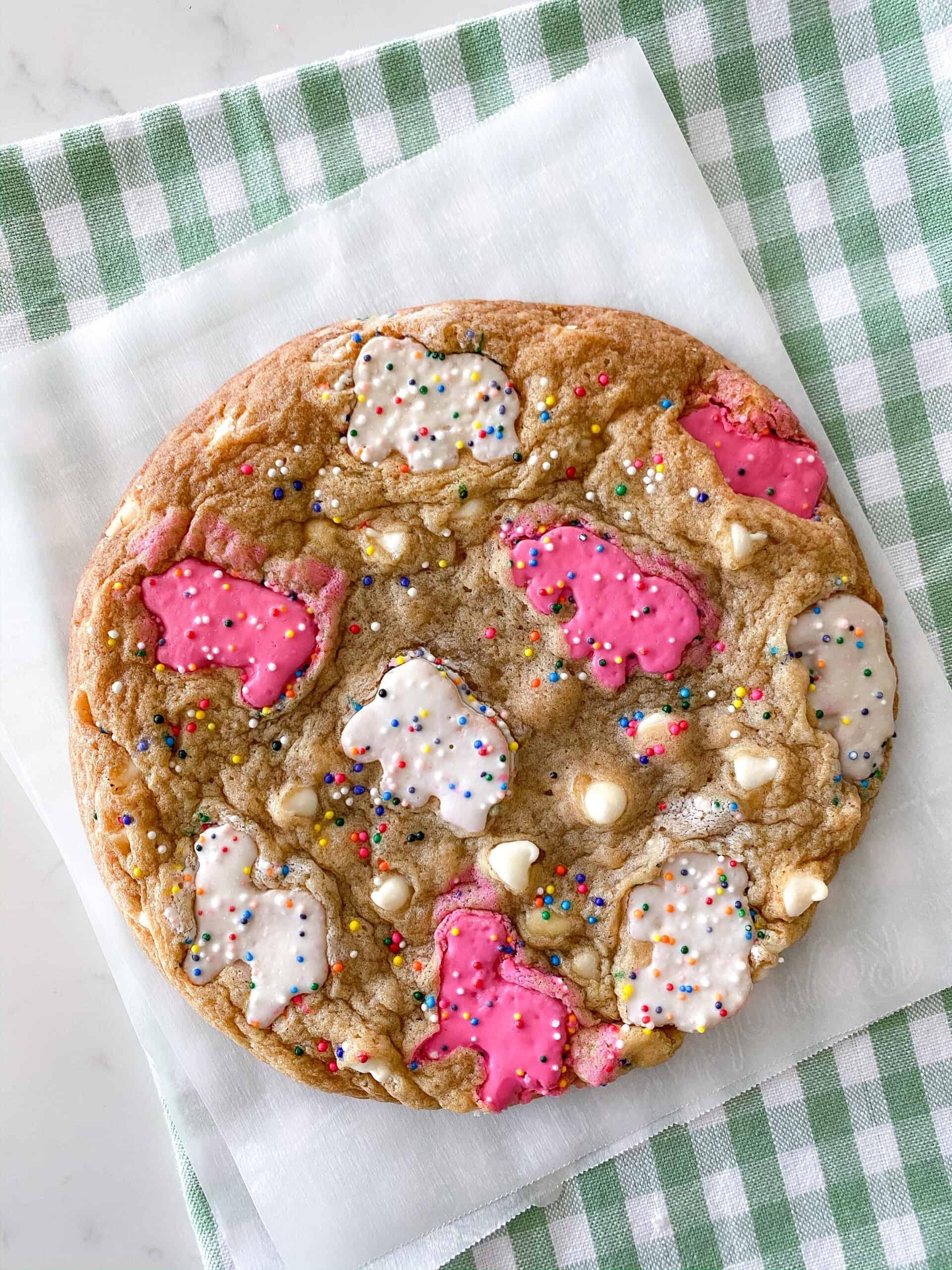baked animal cookies