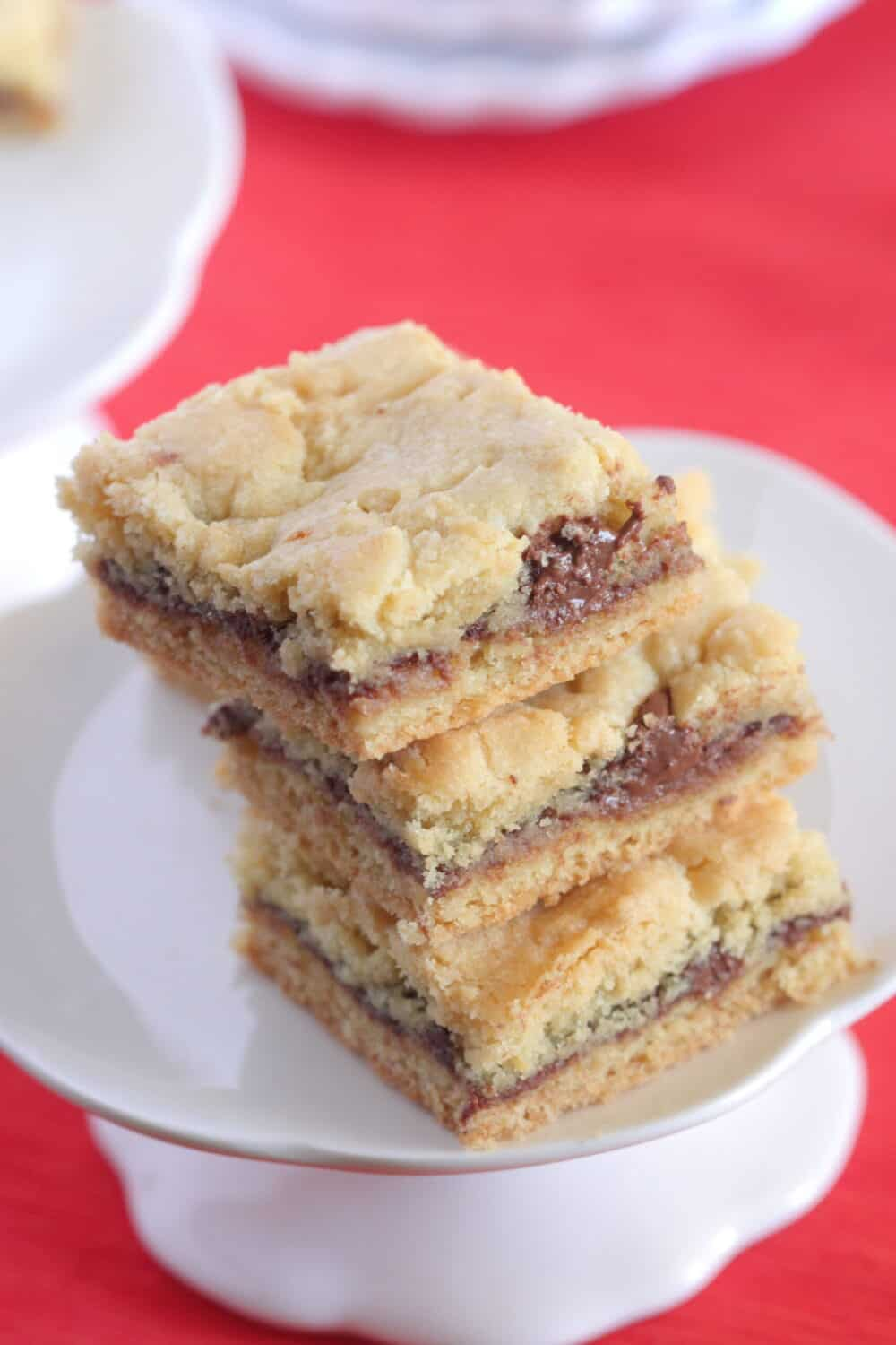 baked cookie bars