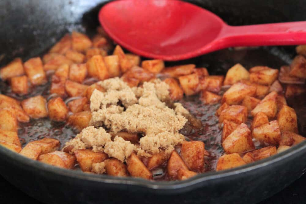 cooking apples for apple pie