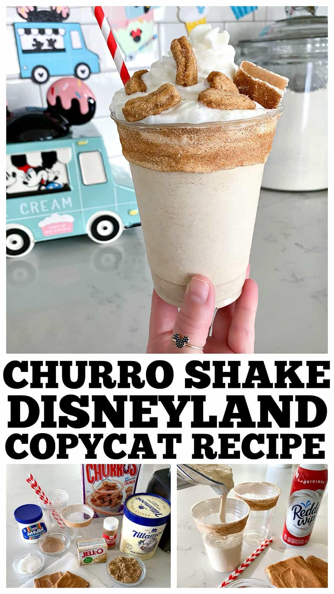 churro shake