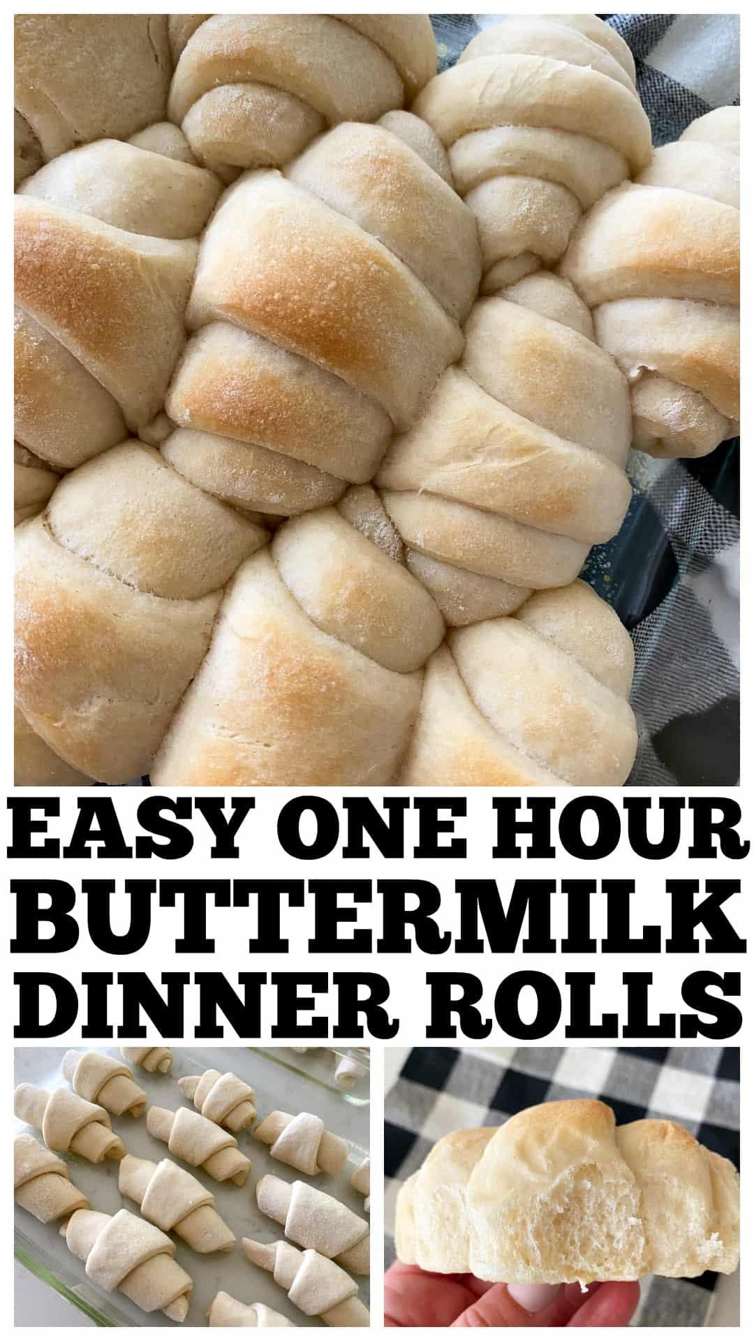 dinner rolls photo collage