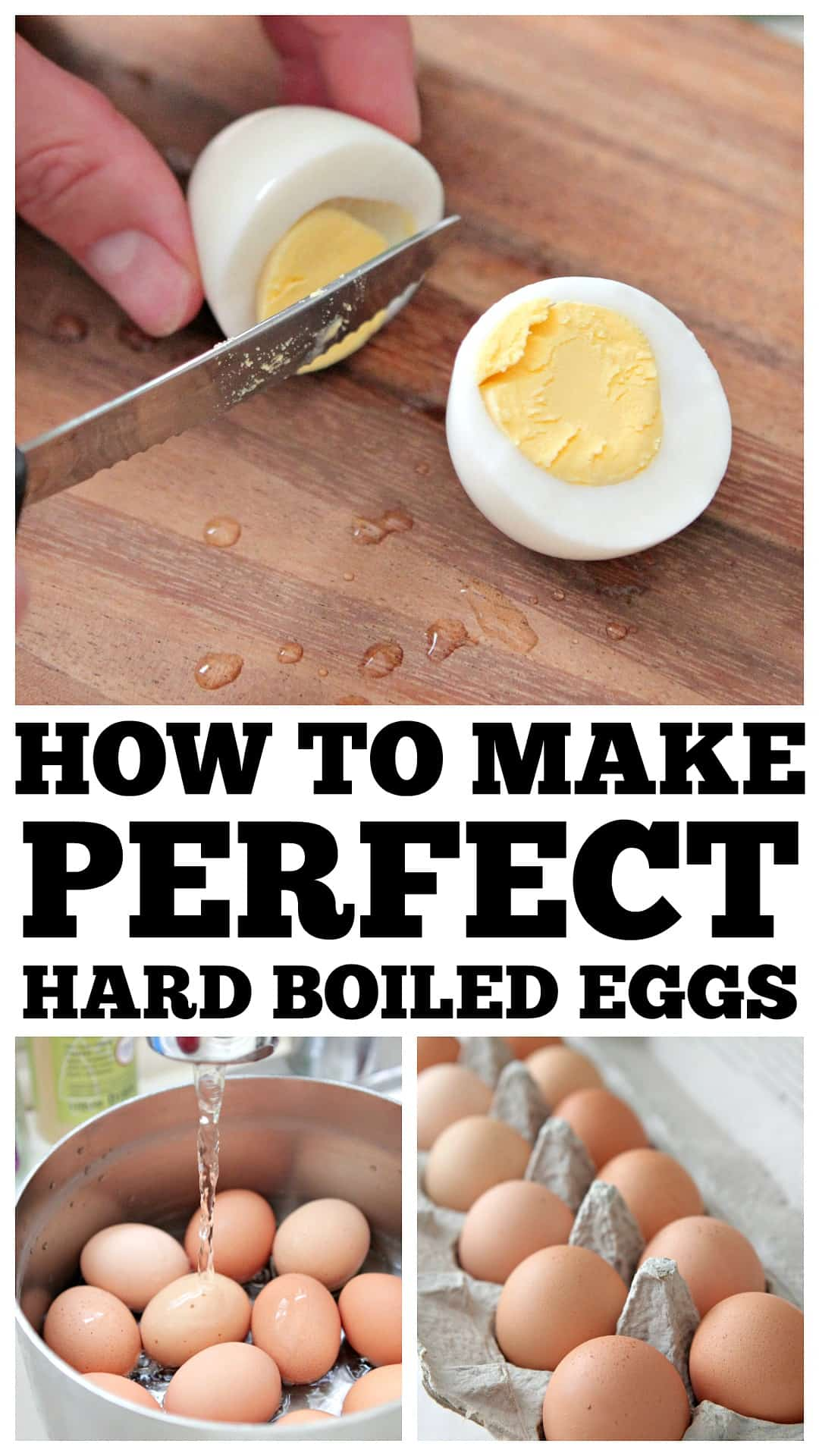 How To Make Perfect Hard Boiled Eggs | Easy Method for Perfect Eggs