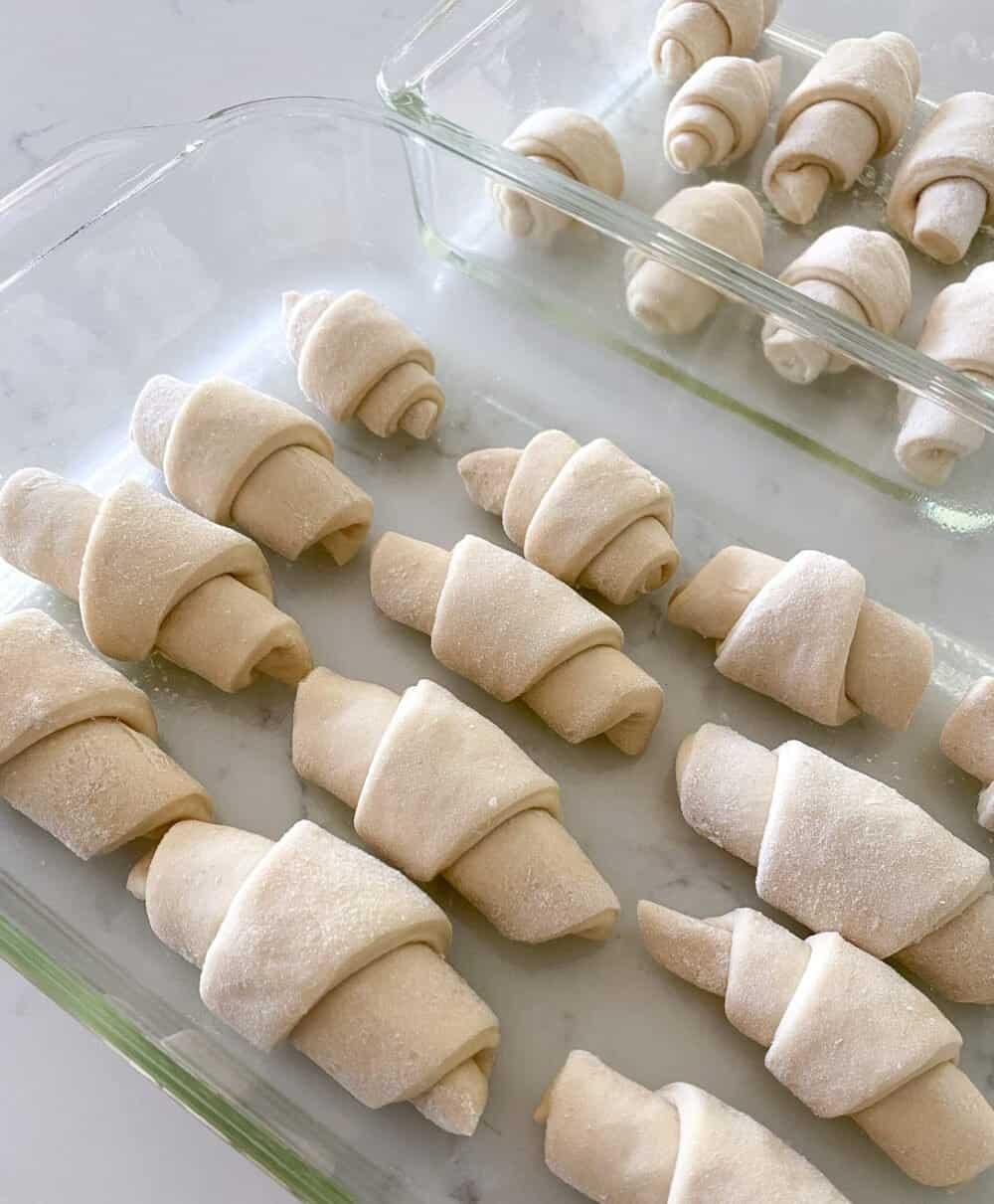 rolled dinner rolls