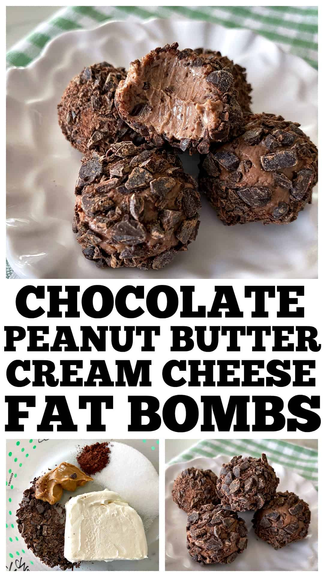 cream cheese fat bombs
