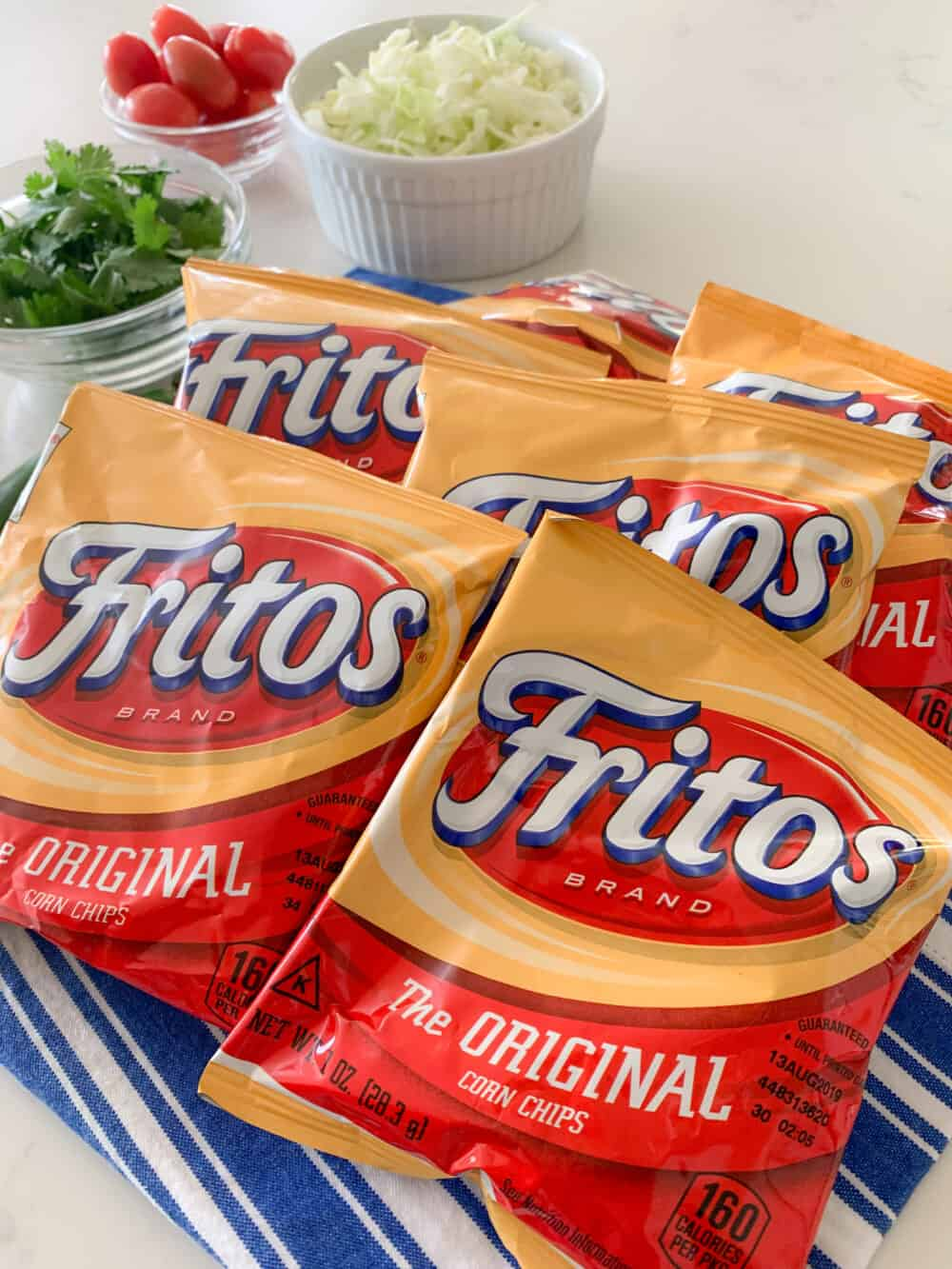 frito bags for walking tacos