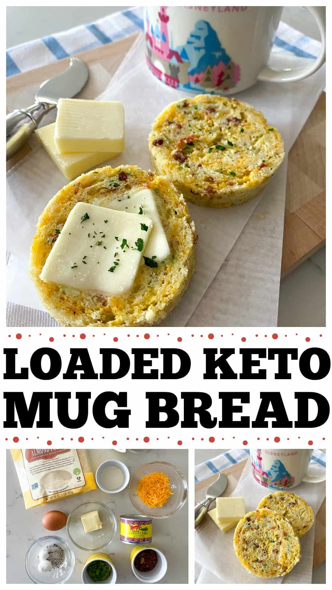 Loaded Keto Bread In A Mug Picky Palate Quick Keto Mug Bread