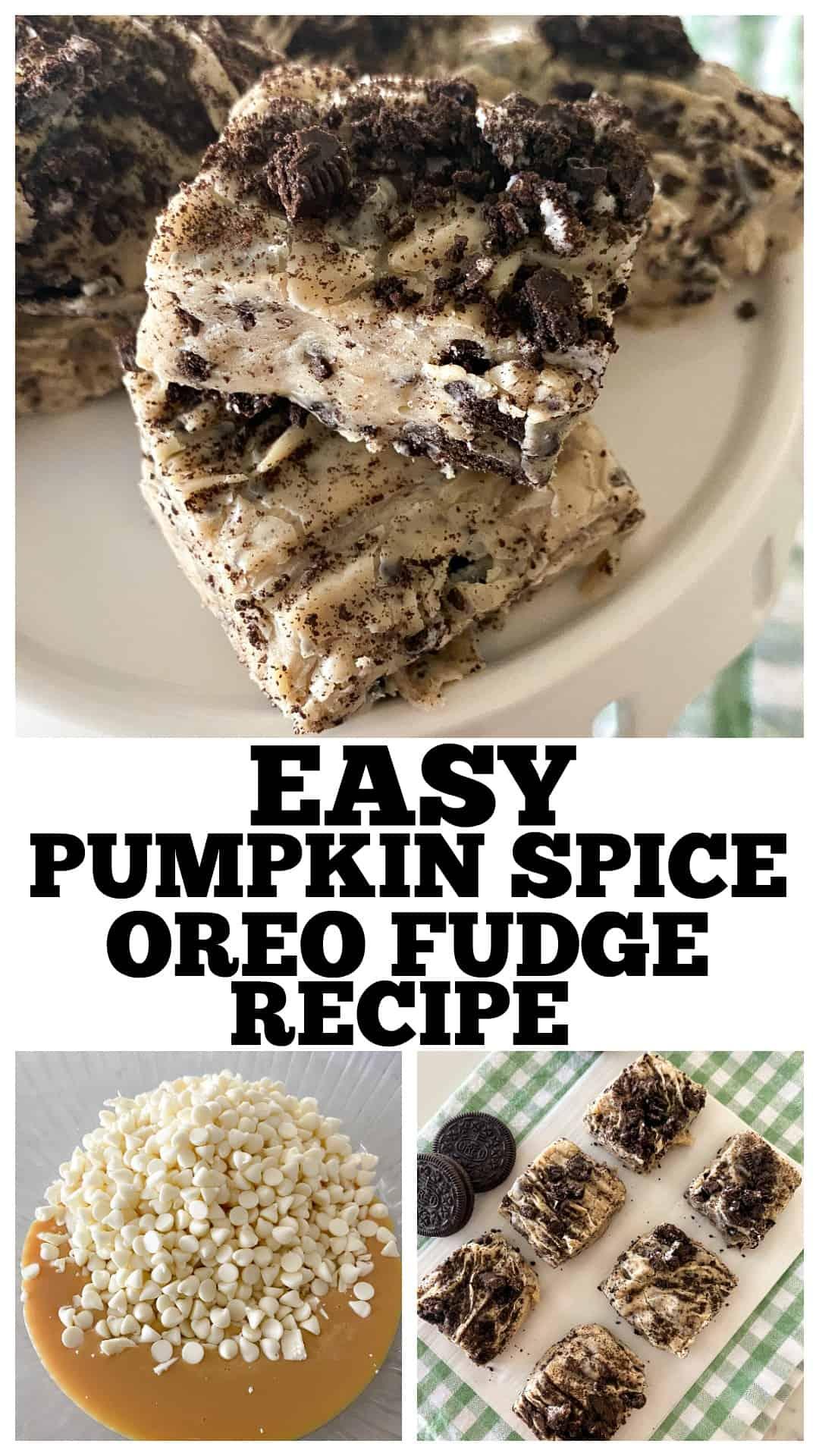 easy fudge recipe photo collage