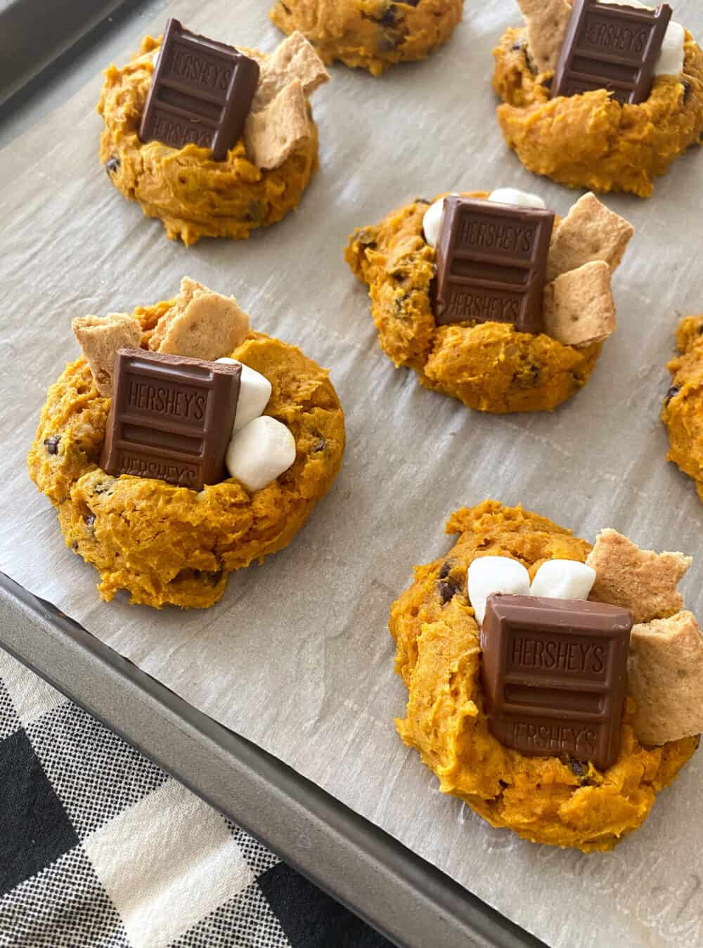 baked smores cookies