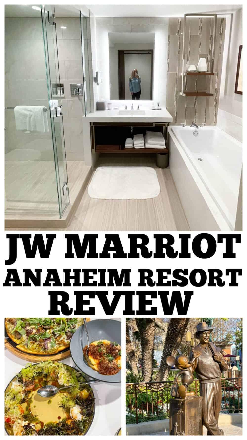 photo collage JW Marriot Anaheim