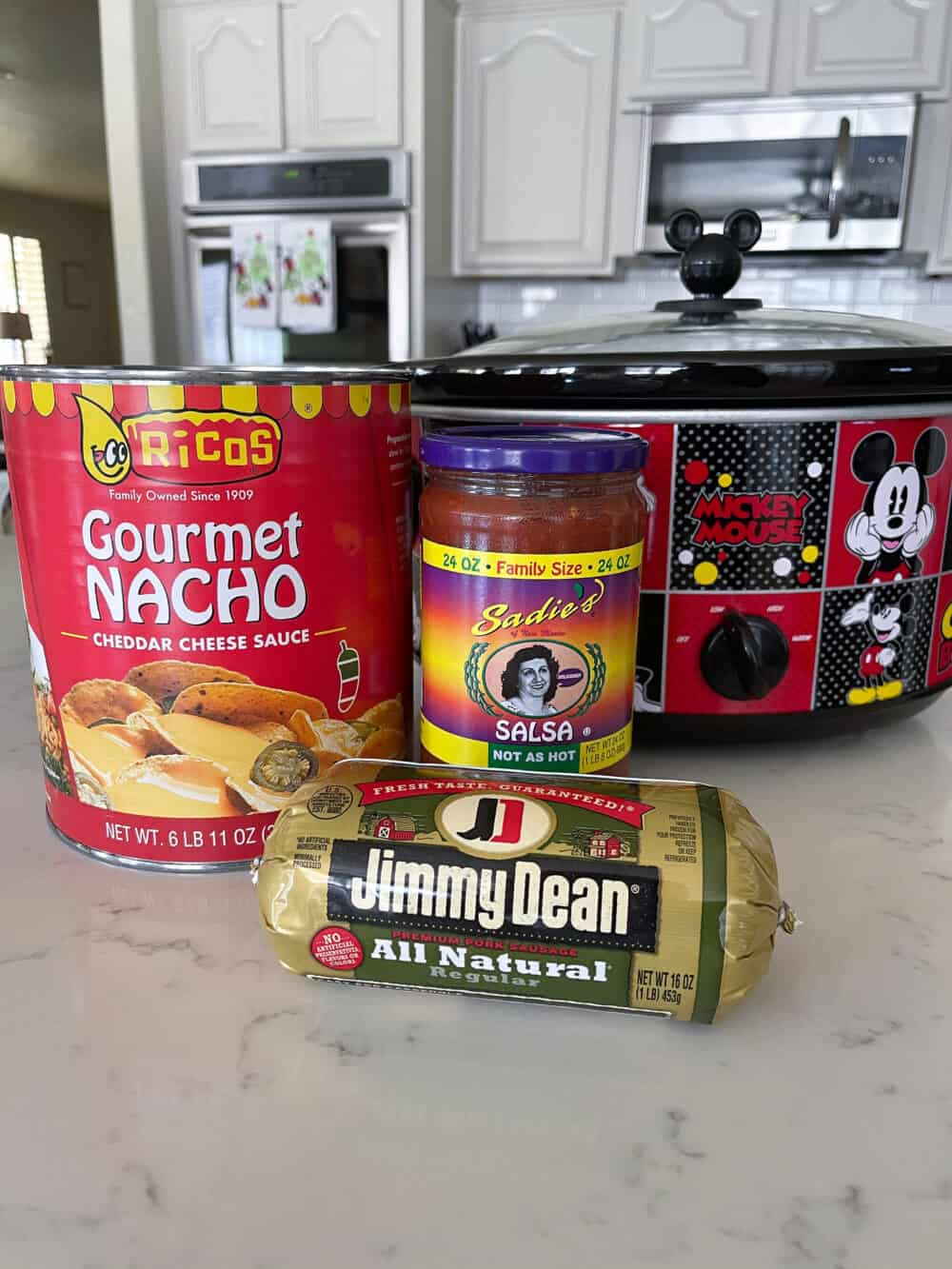 ingredients for queso recipe
