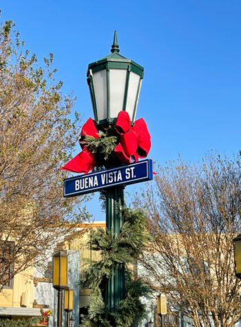 Buena Vista Street Sign