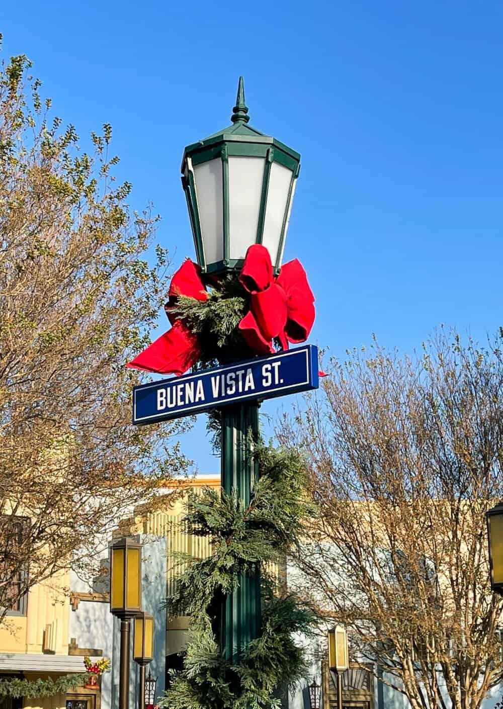 Buena Vista Street Sign