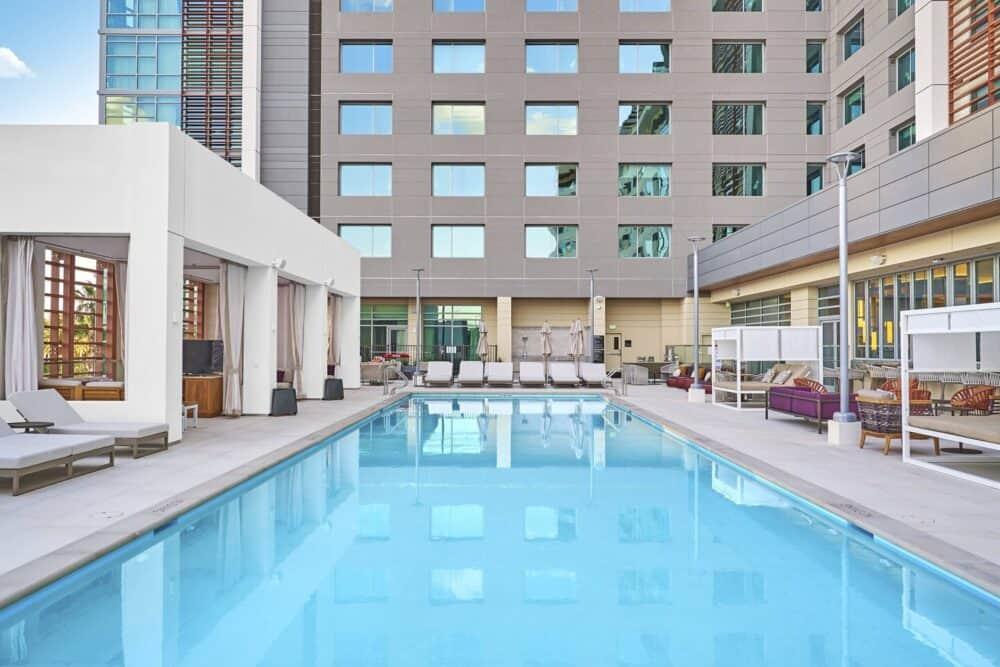 JW Marriot Pool Area
