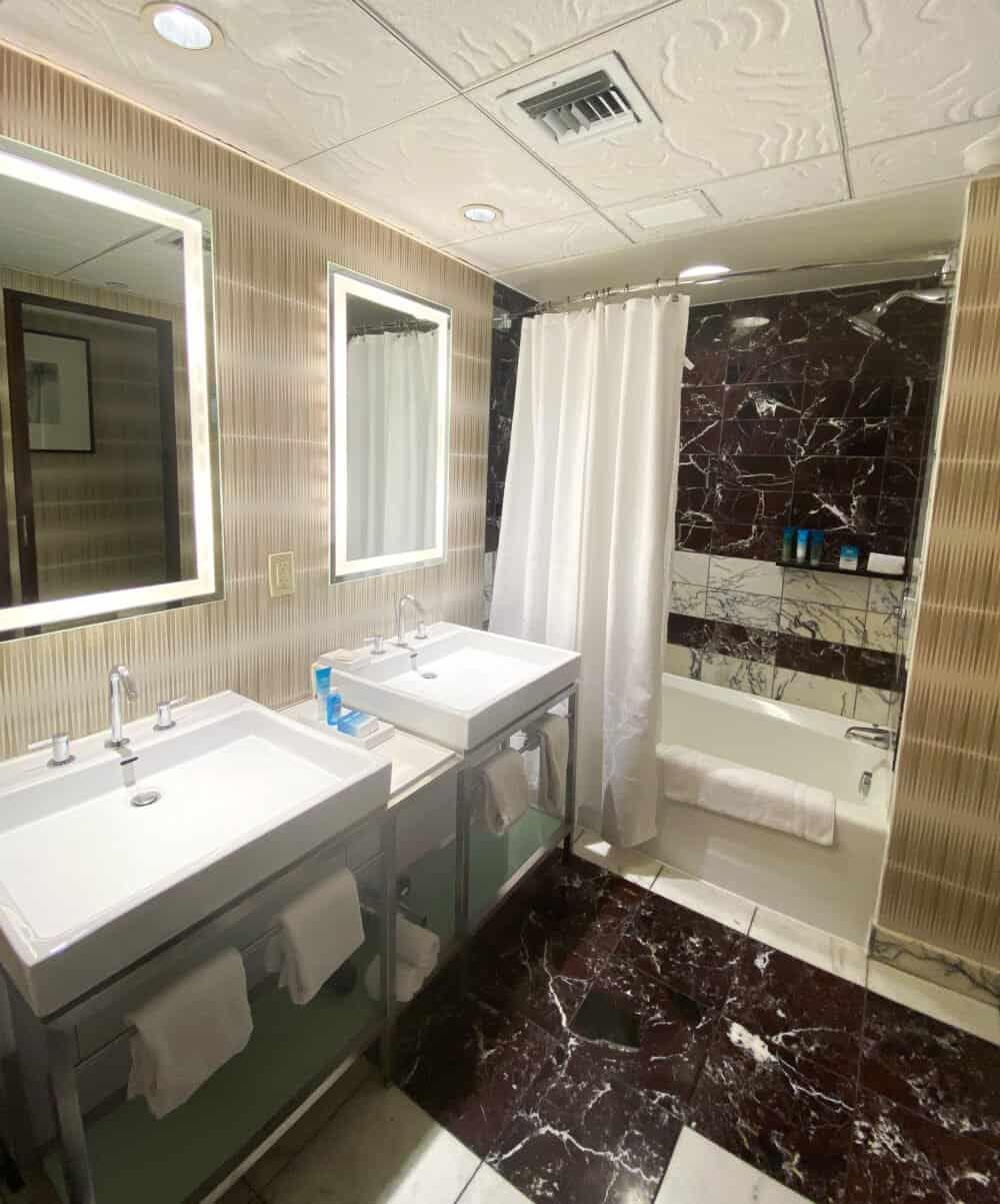 disney contemporary resort bathroom