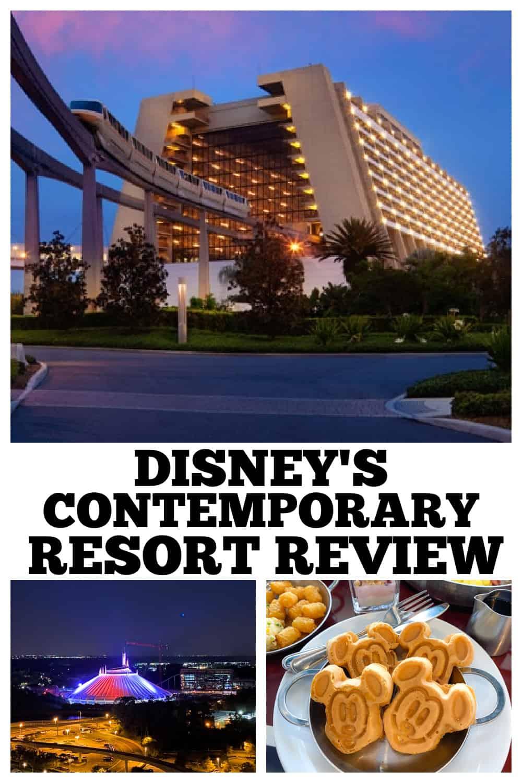 photo collage disney contemporary resort