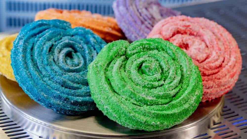 terran treats colorful churros